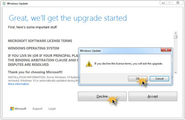 Stop Windows 10 from upgrading your computer automatically