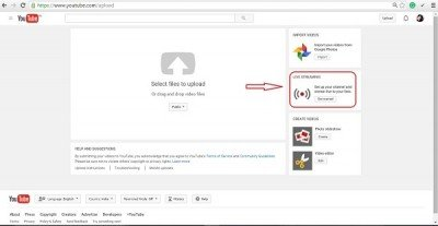 Record a Screencast with YouTube