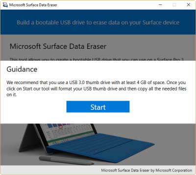 Microsoft Surface Data Eraser 1