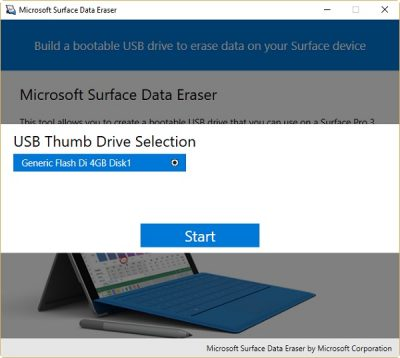 Microsoft Surface Data Eraser 2