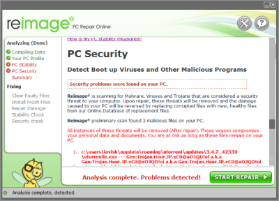 Reimage PC Security