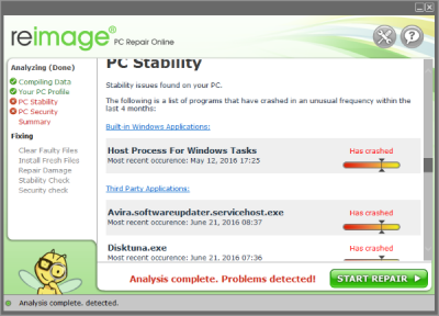 Reimage PC Stability