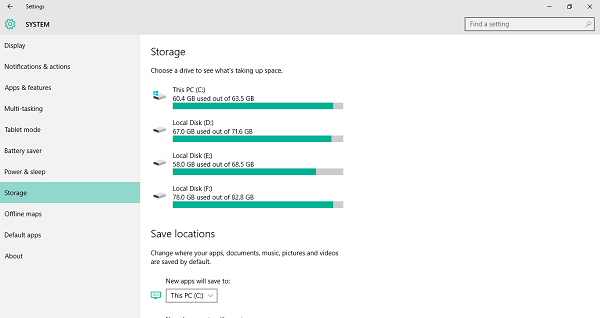 How to use Storage Sense more efficiently in Windows 10