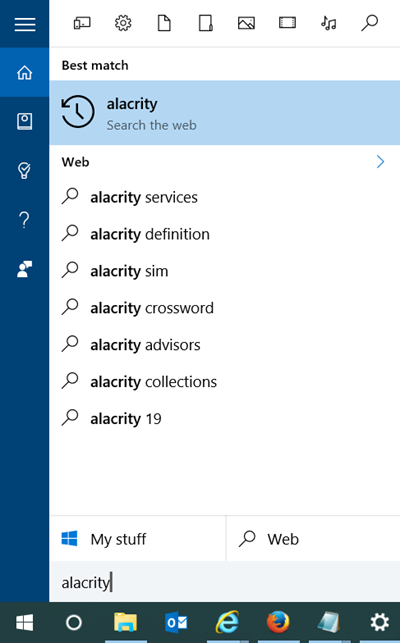 use cortana as dictionary