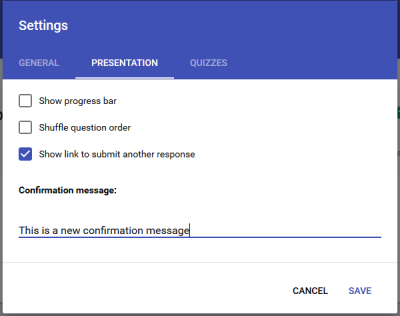 Google Forms Tips and Tricks