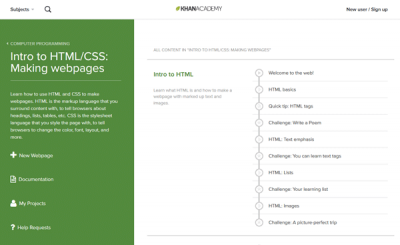 Khan Academy Best websites to learn coding online