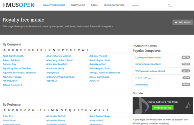 Best websites to download royalty free music for YouTube