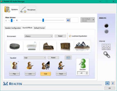 How to use Realtek HD Audio Manager to boost up your PC Sound