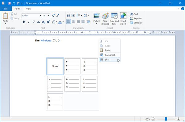 wordpad-windows-10