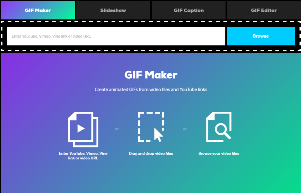 Free online tools to create animated GIF