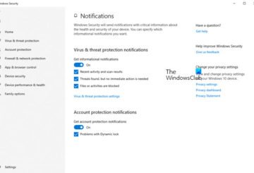 Notifications for Microsoft Defender