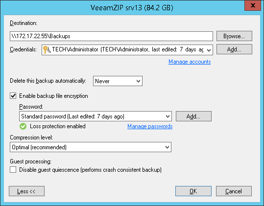 Use Veeam Backup Free Edition tool for effective VM management