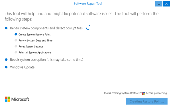 Windows Software Repair Tool