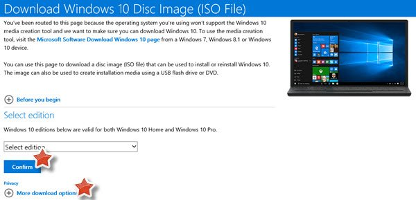 windows 10 iso disk image