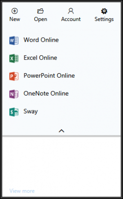 How to create Office documents on Edge and Chrome browser using Office Online