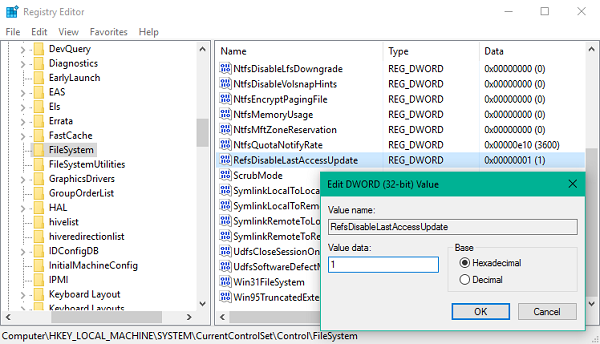 How to enable/disable ReFS File System in Windows 10