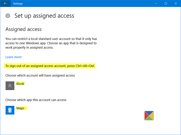 assigned-access