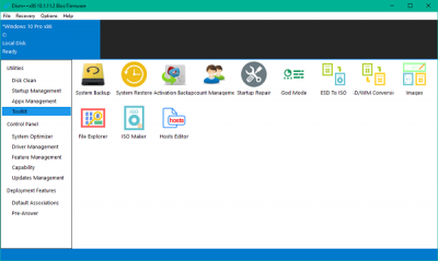 DISM++ is a Windows OS Image Customizer and Size Reducer