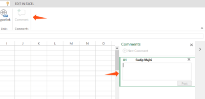 Microsoft Excel Online tips and tricks