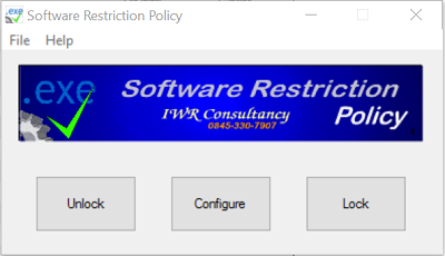 Simple Software Restriction Policy