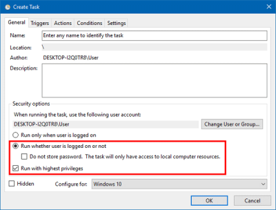 Create System Restore Point at startup
