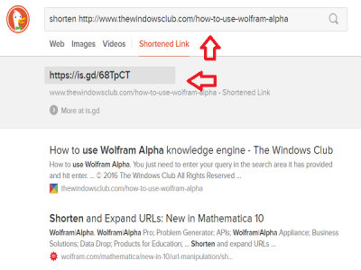 shorten-url-in-duckduckgo