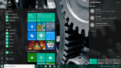 Change taskbar color without changing Start screen color