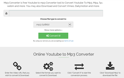 Convert YouTube to MP3 online free