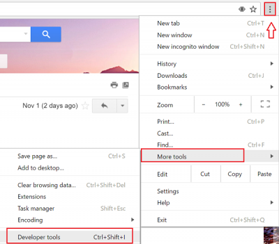 Capture Screenshots in Chrome browser