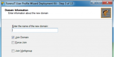 Migrate User Profile to Domain Account
