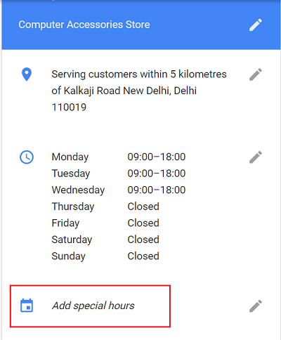 add-special-hours