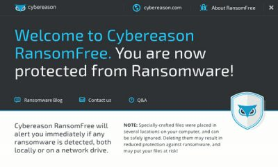 Free Ransomware protection software