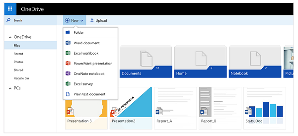 Getting started with OneDrive