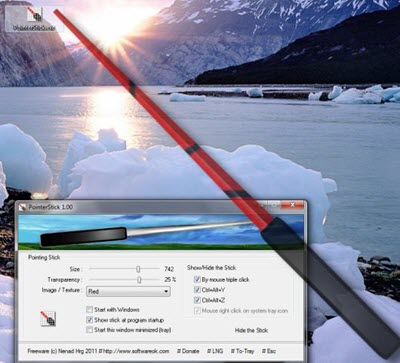 Virtual Pointer Device