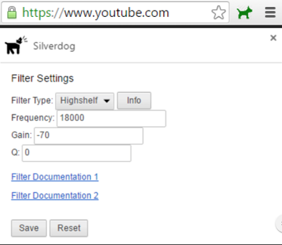 Silverdog Chrome Extension mitigates the risk of Ultrasonic Tracking