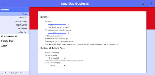 smartup gestures Best Chrome extensions to setup mouse gestures