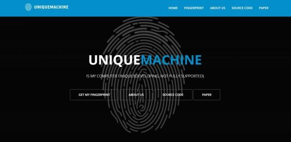 Get My Fingerprint Unique Machine Cross-browser fingerprinting