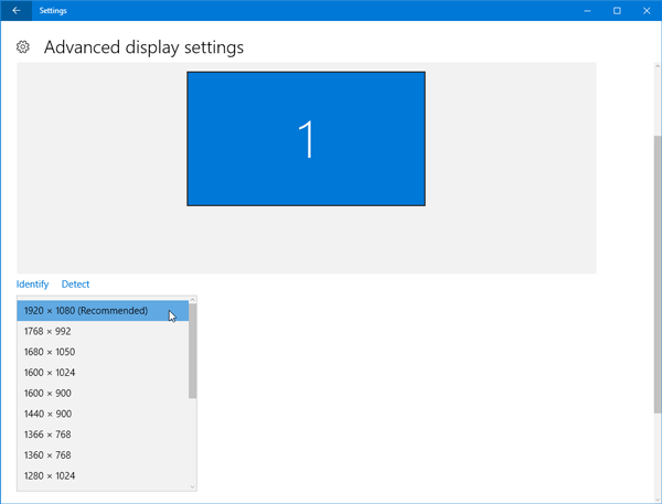 Problems after moving to Monitor with higher Screen Resolution