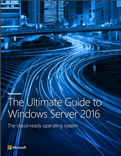 Guide to Windows Server 2016