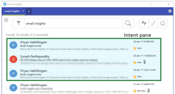 Email Insights for Windows