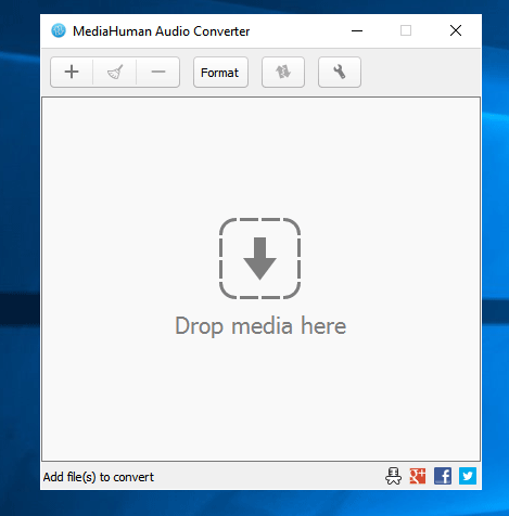MediaHuman Audio Converter converts multiple audios in bulk
