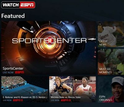 Sports apps for Windows 10