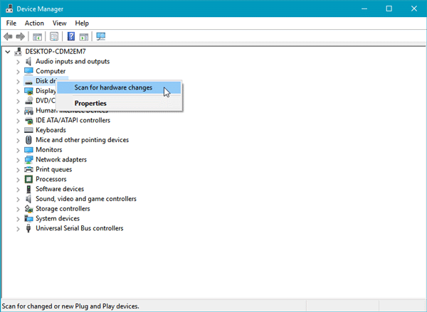 Windows 10 does not recognize second hard drive
