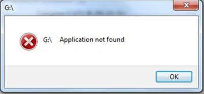 application not found