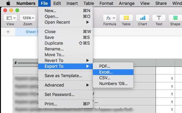 How To Open Apple Numbers File In Excel On Windows Pc