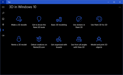 Use Microsoft Tips app to take hold of Window 10 like a pro