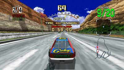 Daytona USA HD. Photo Courtesy: Microsoft Xbox Marketplace