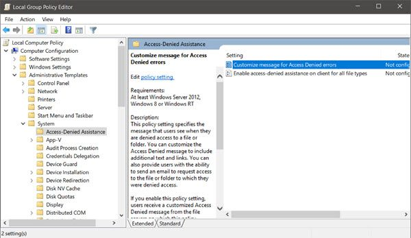Group Policy Administrative Templates