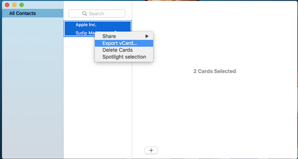 How to import Apple Contacts to Windows 10 People
