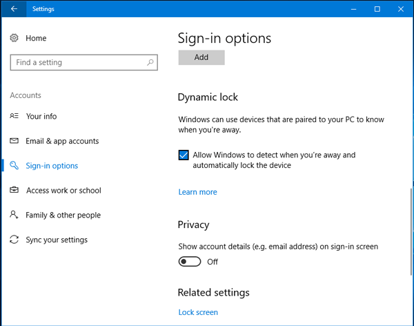 How to lock Windows 10 automatically when you step away using Dynamic Lock
